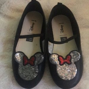 Size ten Minnie leather Mary Janes
